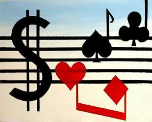 Музыка и покер