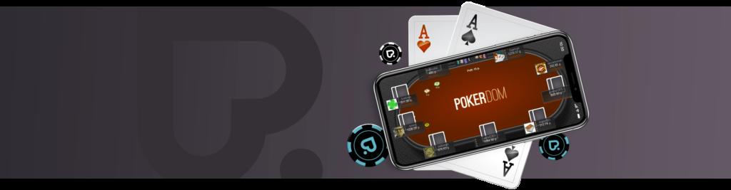 Мобильный PokerDom.
